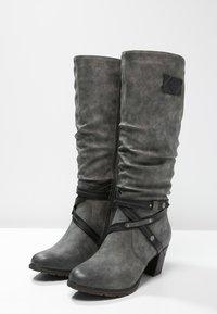 Rieker - Winter boots - smoke/black - 2