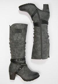 Rieker - Winter boots - smoke/black - 3