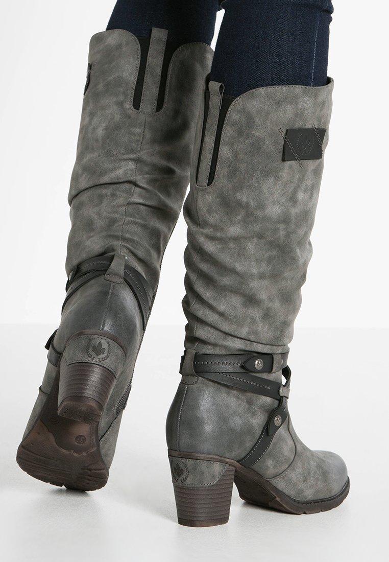 Rieker - Winter boots - smoke/black