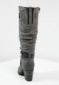 Rieker - Winter boots - smoke/black - 4