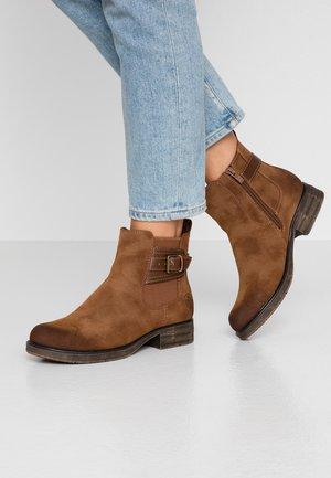Kotníková obuv - mogano