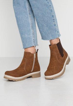 Kotníkové boty - cognac/brown