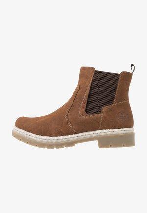 Støvletter - cognac/brown