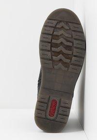 Rieker - Šněrovací kotníkové boty - schwarz - 6