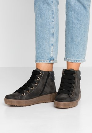 Ankle boots - anthrazit