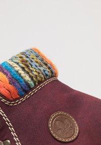Rieker - Kotníkové boty na platformě - bordeaux/orange/multicolor/mogano - 2