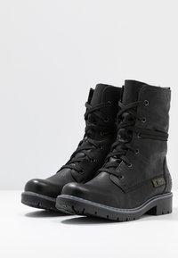 Rieker - Bottes de neige - schwarz/graphit - 4