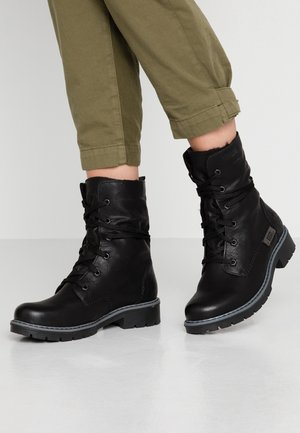 Winter boots - schwarz/graphit