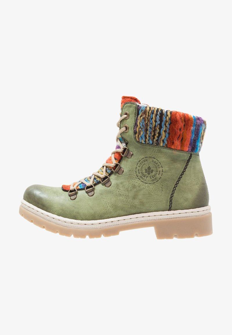 Rieker - Ankle boot - leaf/orange/multicolor