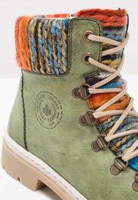 Rieker - Ankle boot - leaf/orange/multicolor - 5