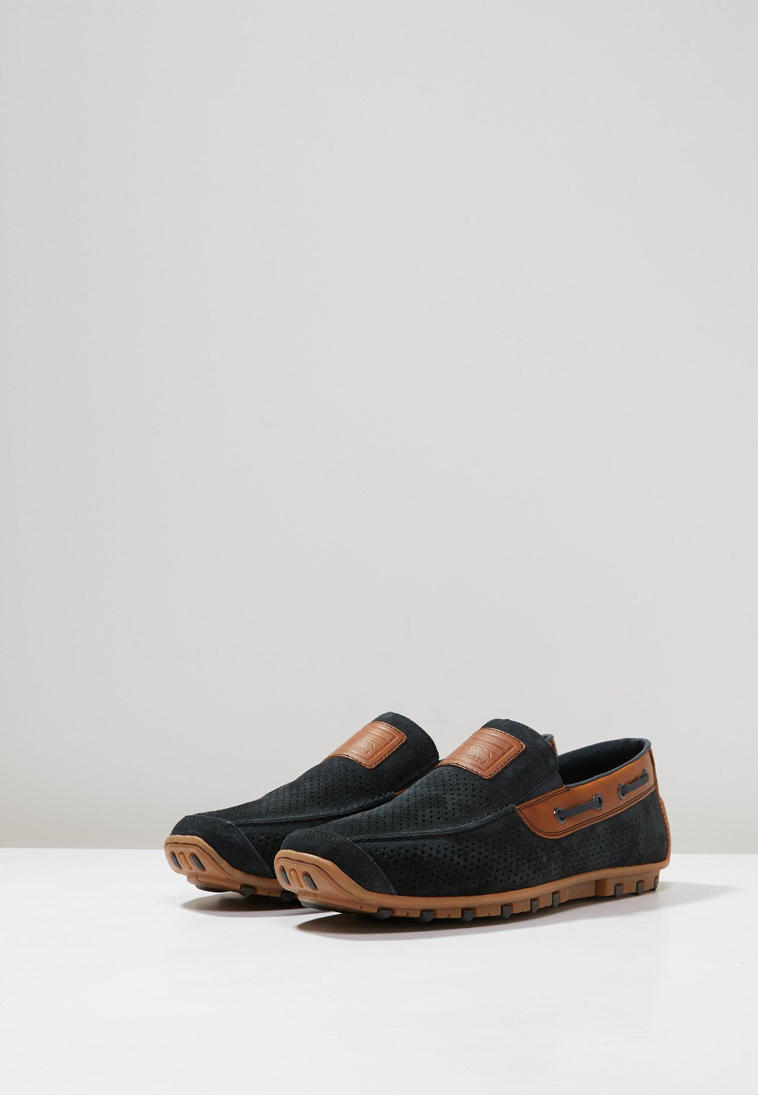 Rieker Loafers - pazifik/amaretto/navy