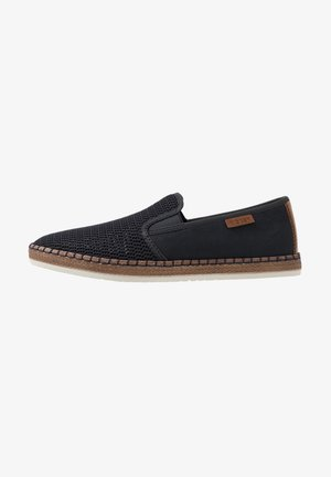 Slipper - navy/pacific/amaretto