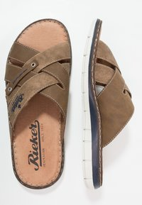 Rieker - Pantolette flach - zimt - 1