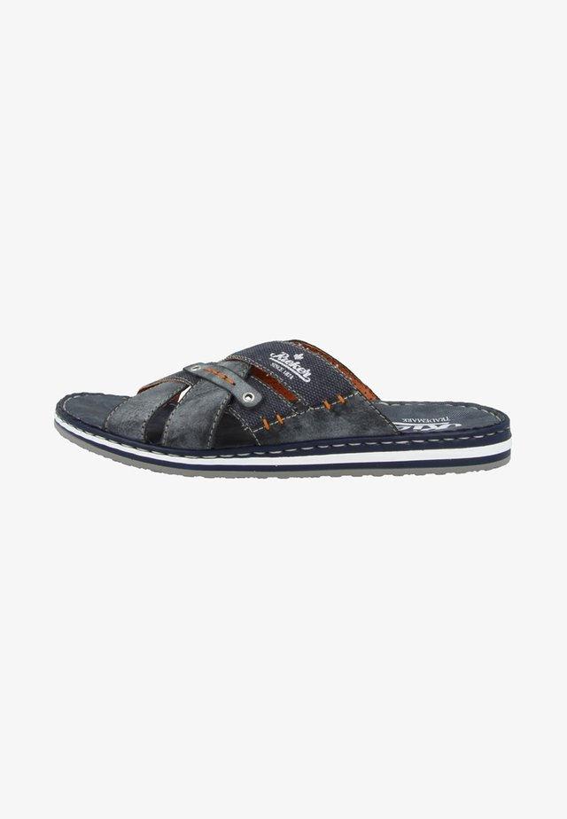 Slippers - ozean/denim