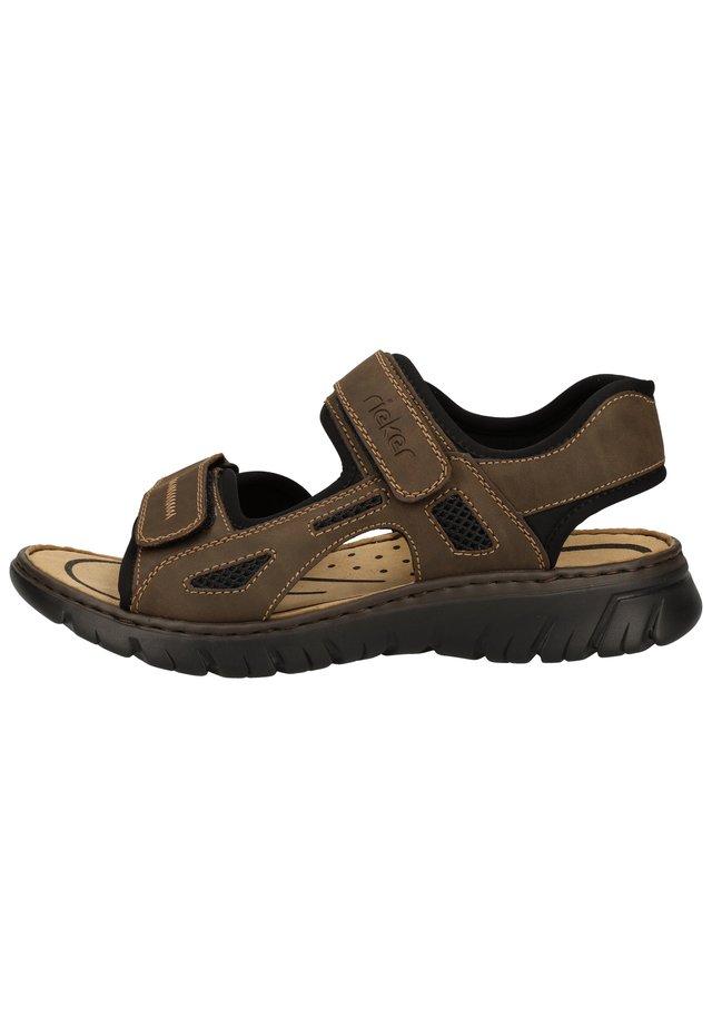 Sandales de randonnée - tabak/schwarz 25