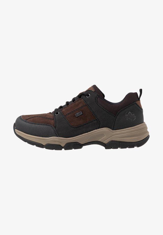 Sneaker low - schwarz/testa di moro/marron