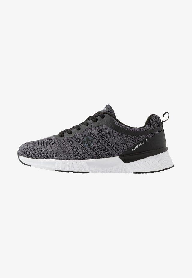 Sneaker low - grau/schwarz