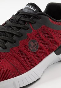 Rieker - Sneakers laag - rot/schwarz - 5