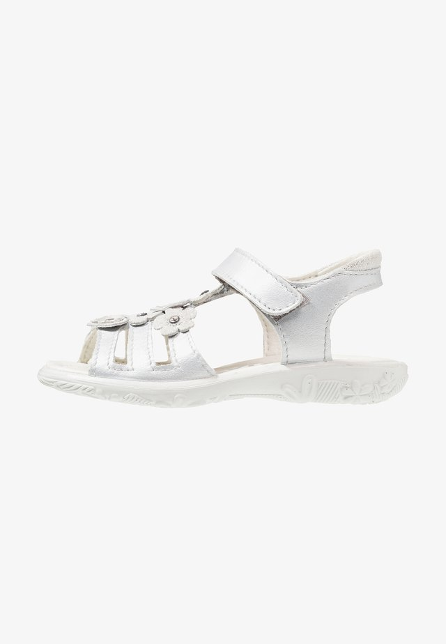 CHICA - Sandals - silber