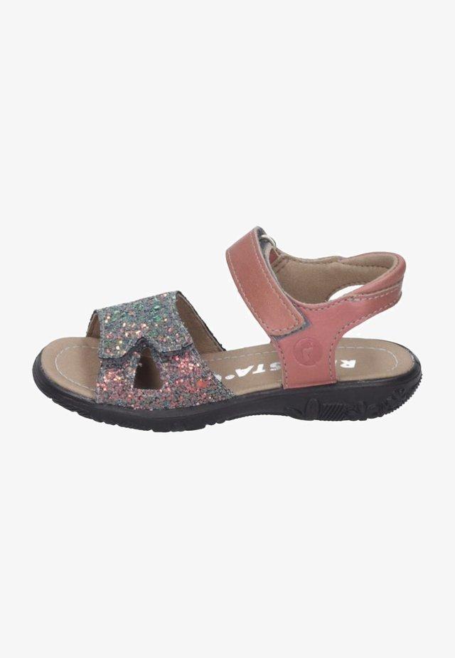 Walking sandals - multi-coloured