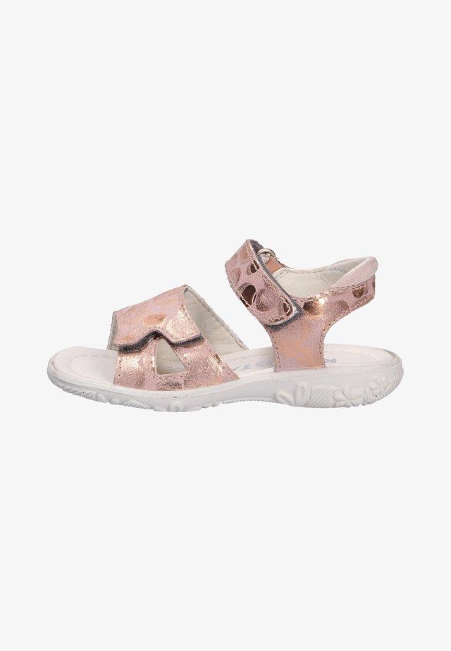Walking sandals - light pink