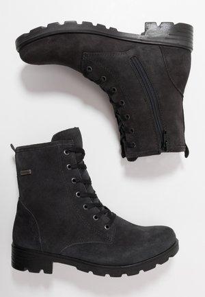 DISERA - Lace-up ankle boots - asphalt
