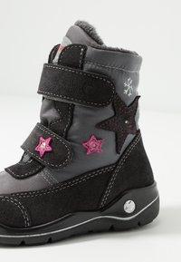 Ricosta - GLORIA - Winter boots - patina/asphalt - 5