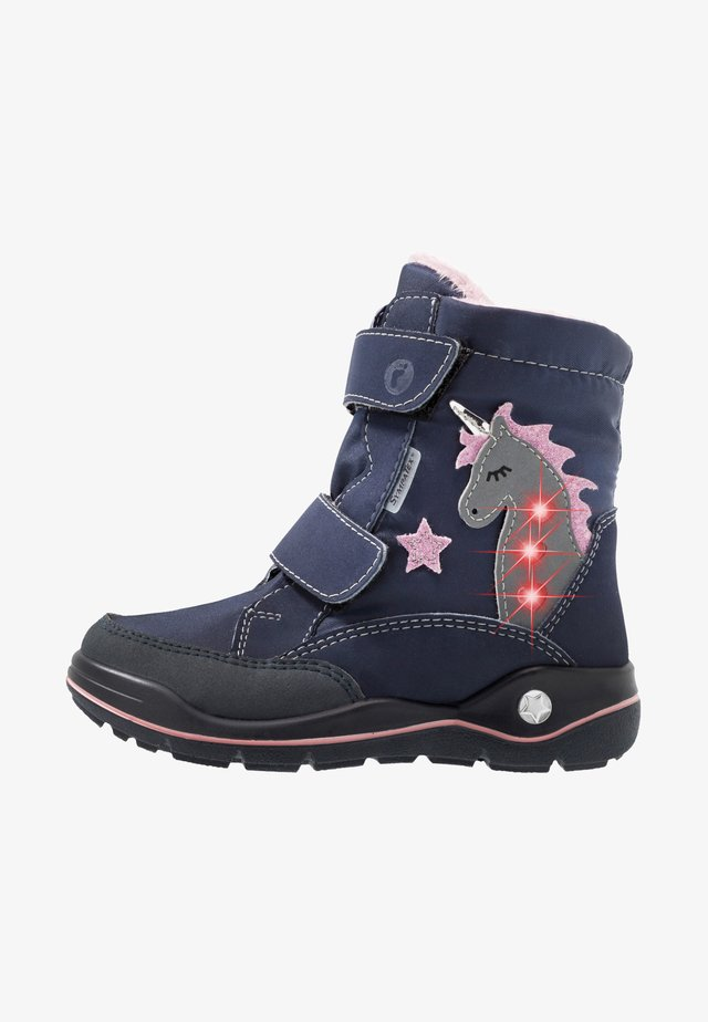 ANNIKA - Winter boots - marine/nautic