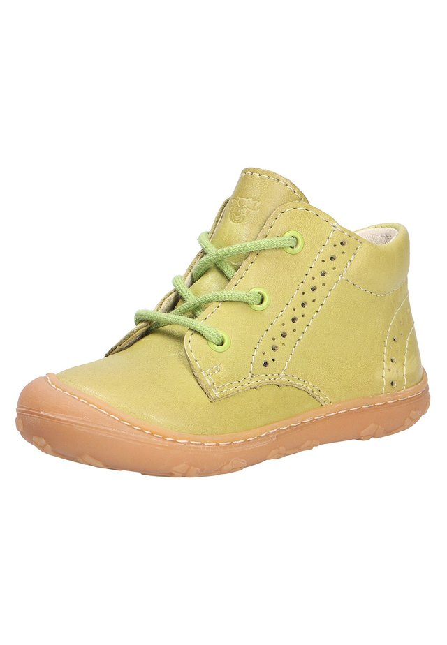 Casual lace-ups - lime