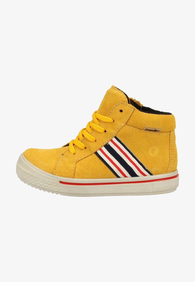 Sneakers - gelb 762