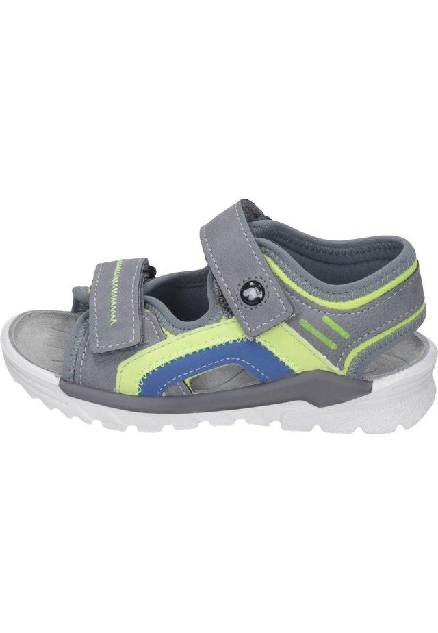 Walking sandals - graphit