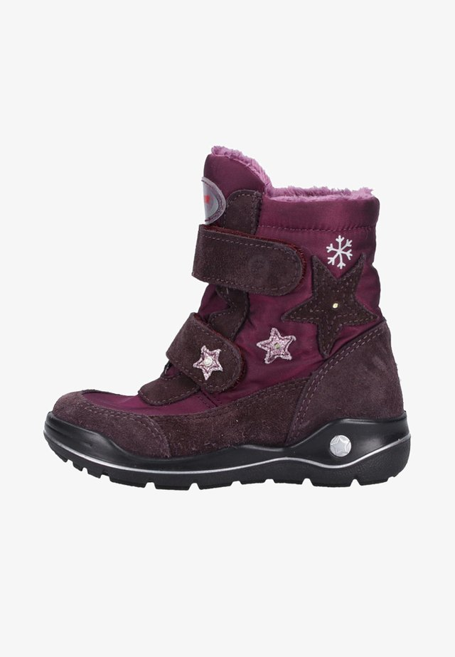 Winter boots - purple