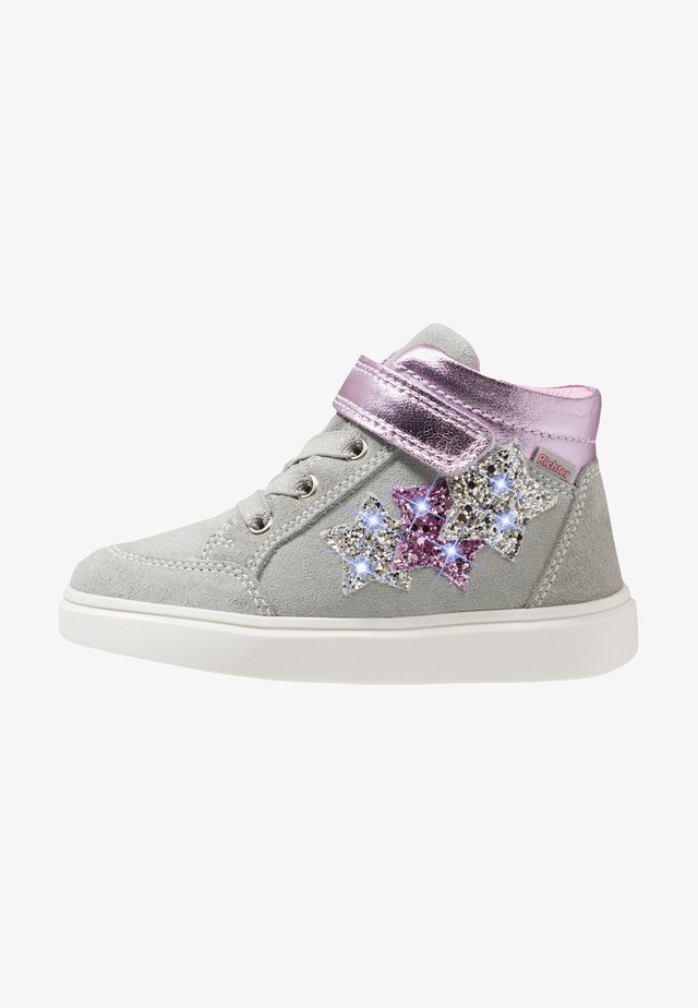 High-top trainers - flint/violet/silver/candy