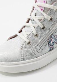 Richter - Sneaker high - silver/candy - 2