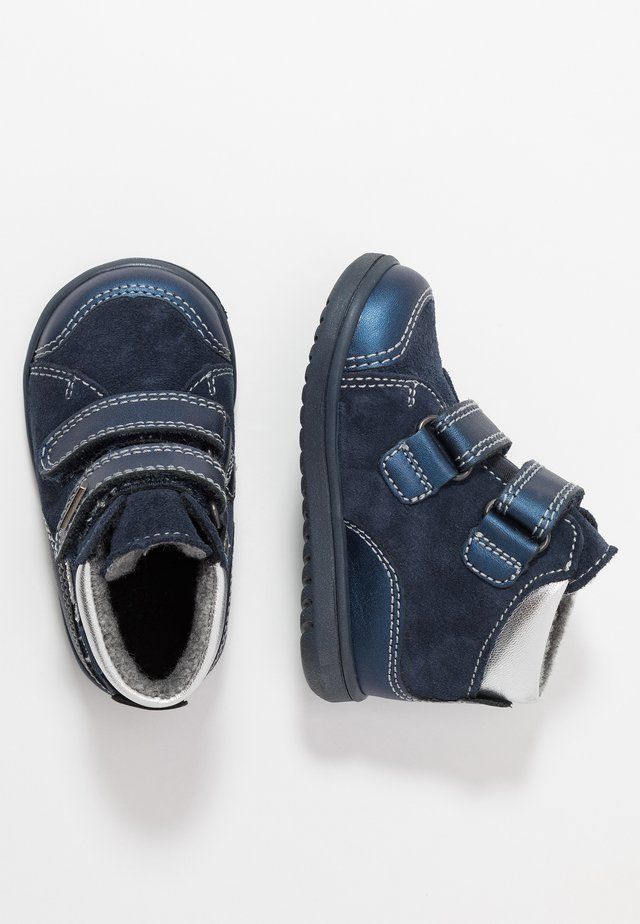 Sneaker high - atlantic/silver