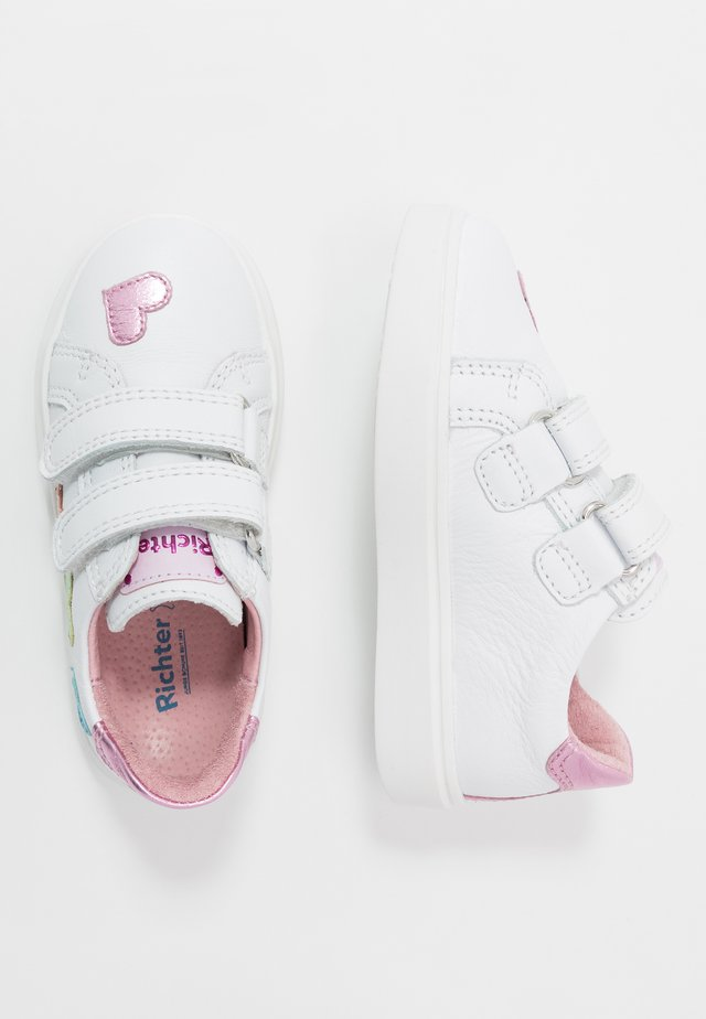 Baskets basses - white/candy