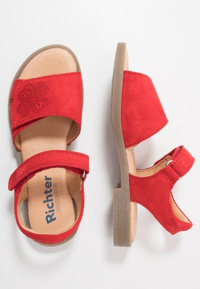 Sandals - fire