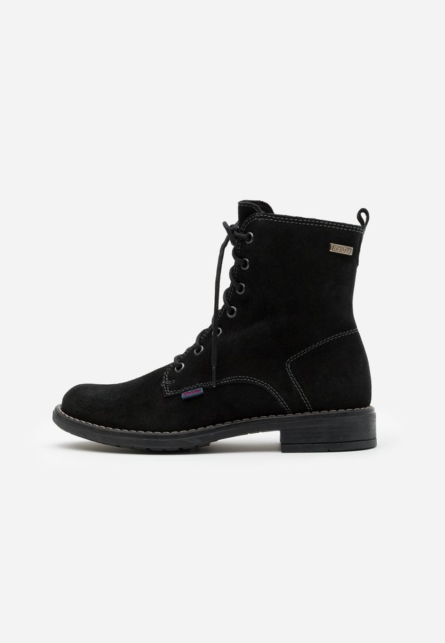 MARY - Lace-up ankle boots - black