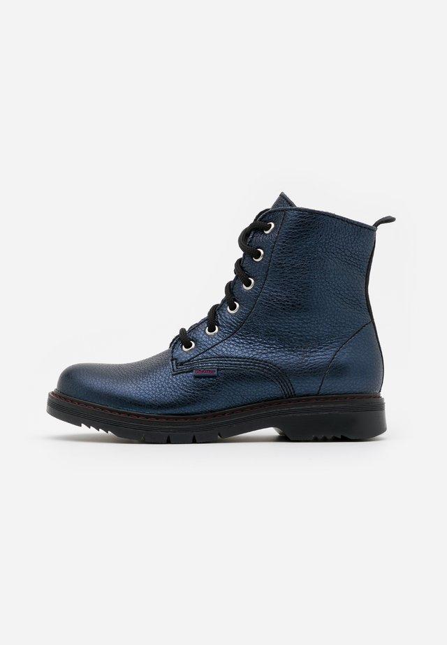 PRISMA - Lace-up ankle boots - atlantic