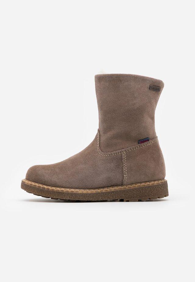 GRETA - Winter boots - almond