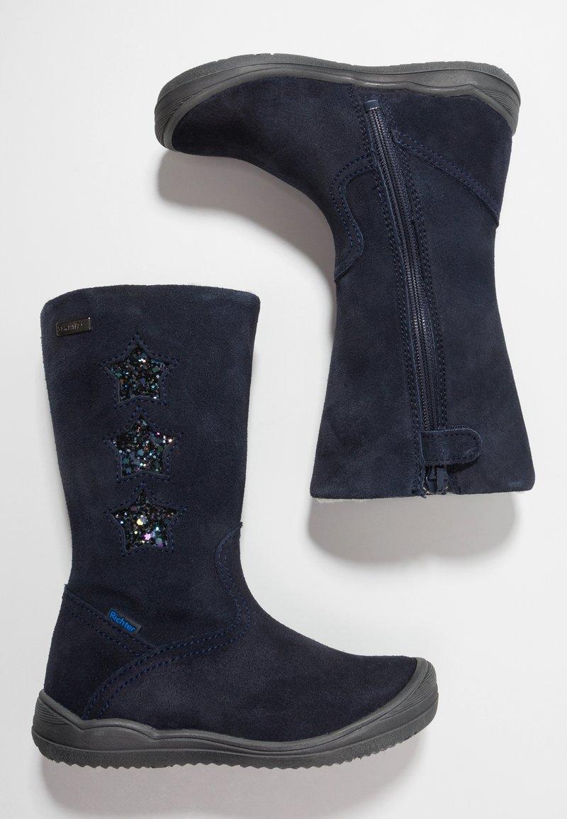 Richter - BOOTS HIGH - Boots - atlantic/petrol