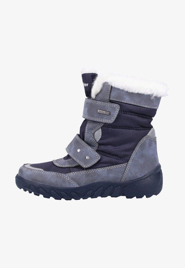 Bottes de neige - blue