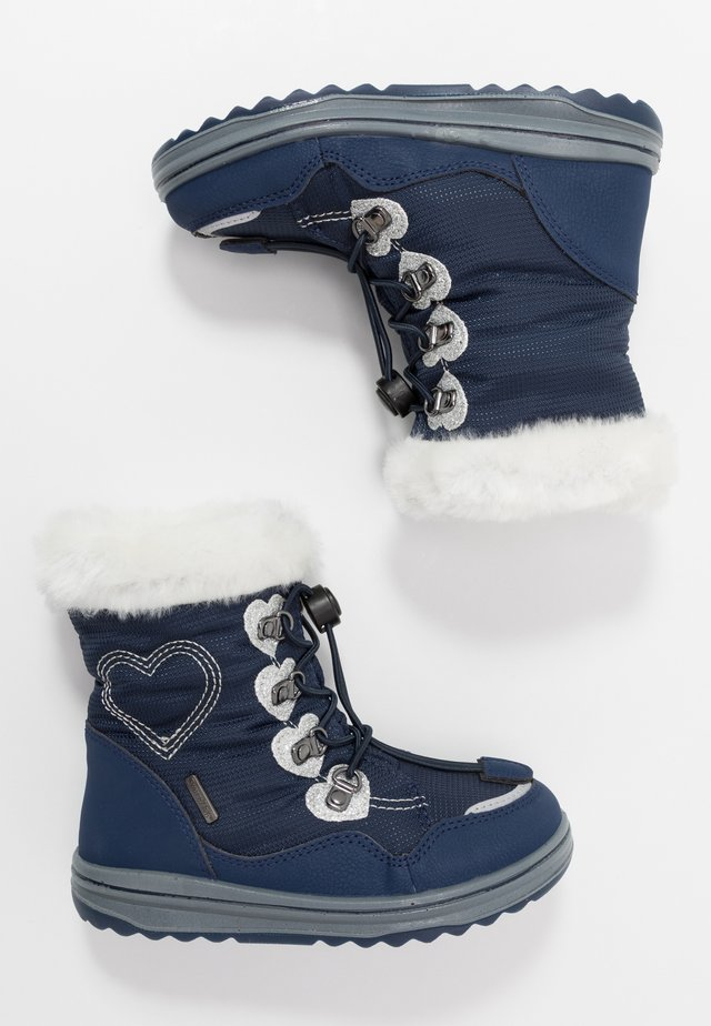 Snowboots  - atlantic/silver/offwhite