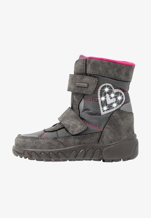 Winter boots - ash/fuchsia