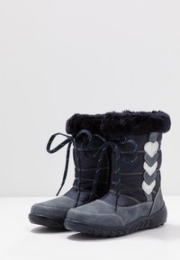 Richter - Winter boots - atlantic/silver - 3