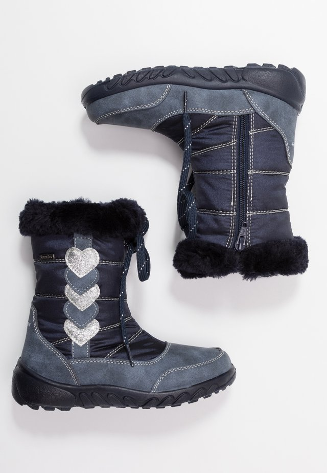 Snowboot/Winterstiefel - atlantic/silver