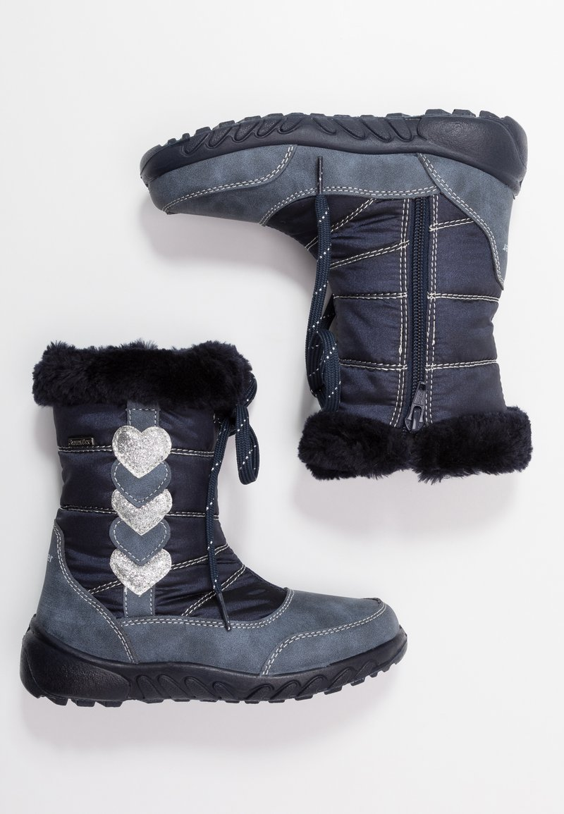 Richter - Winter boots - atlantic/silver