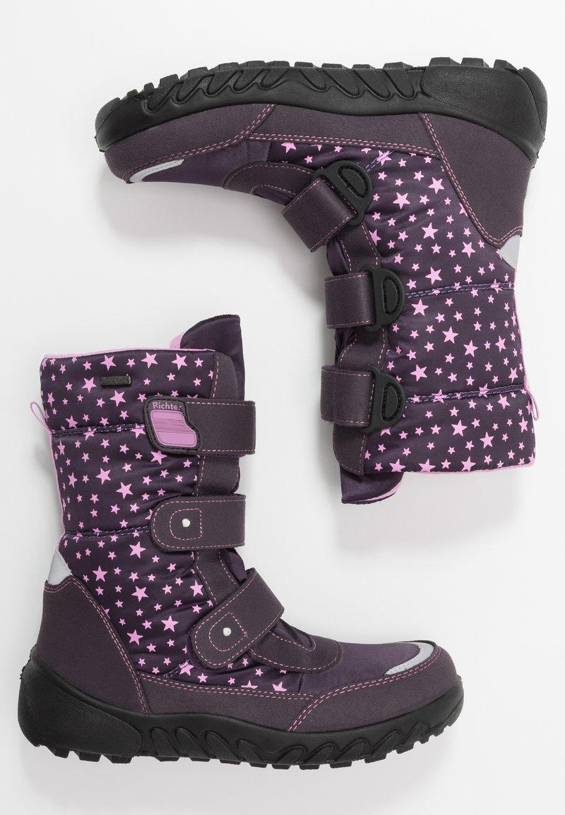 Richter - Winter boots - aubergine/lipstick