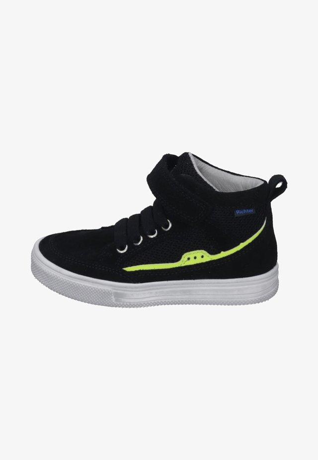 MIDCUT - Sneakers hoog - black/yellow