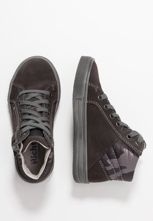 High-top trainers - steel